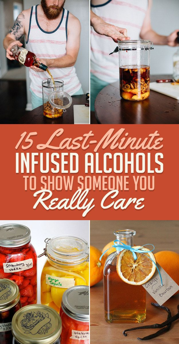 15 Really Cute Kittens: 15 Last-Minute Infused Alcohols To Show Someone You Really
