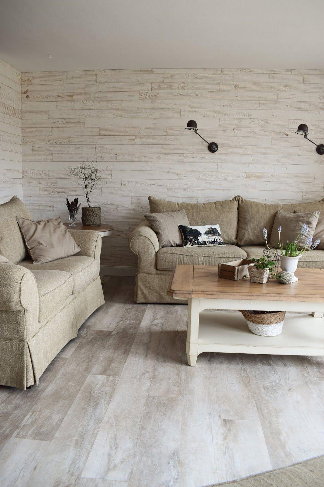 Wohnzimmer Renovierung Mit Wandpaneelen Aus Echtholz Dekoidee