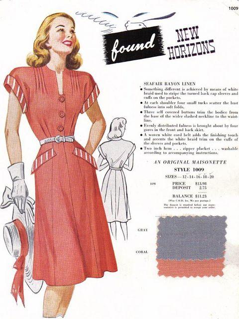 1940s Maisonette Salesman's Sample  c.1949