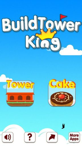Build Tower King has simple rule, just tap the screen, build your own tower.<br>How tall can you build?<p>Features,<br>>>>Free to play, and in app purchase is free;<br>>>>Tower or cake Tower;<br>>>>Leaderboard;<br>>>>Yummy Cake;<br>>>>Cool Tower;<br>>>>Suitable for all ages;<br>>>>Easy to play;<br>>>>Share it.  http://Mobogenie.com