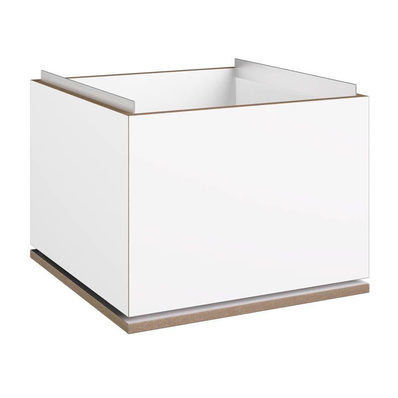modul h ngeregister wei stocubo regalsystem. Black Bedroom Furniture Sets. Home Design Ideas