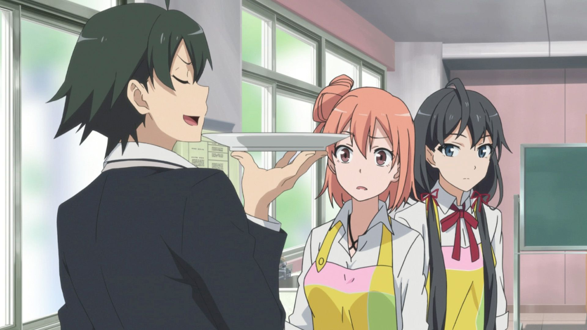 My teen romantic comedy snafu this is one of the oddest animes that youll ever watch you would think from the title that its one of those silly harem