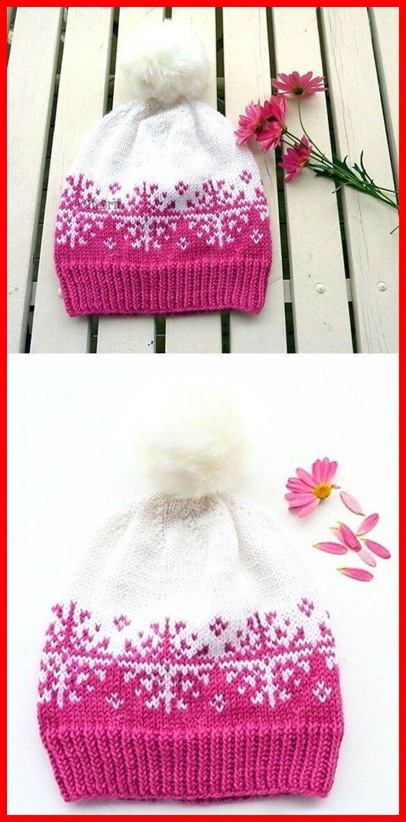 Photo of Winterstorm Hat – Knitting Pattern