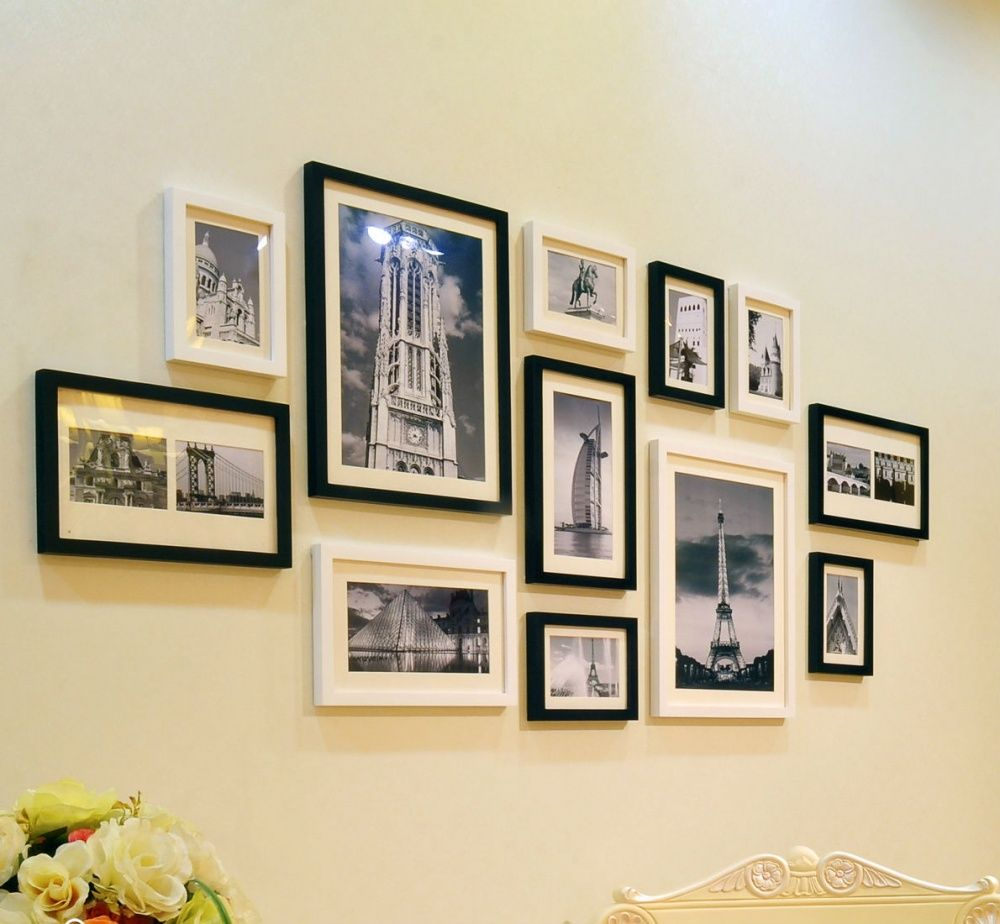 group six original ideas for hanging picture frames