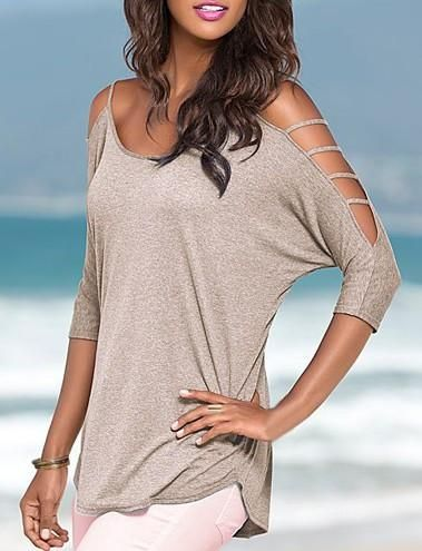 ececde7a14daf Womens edgy sleeve design casual top - For the stylish fashionista - Lovely  design offers