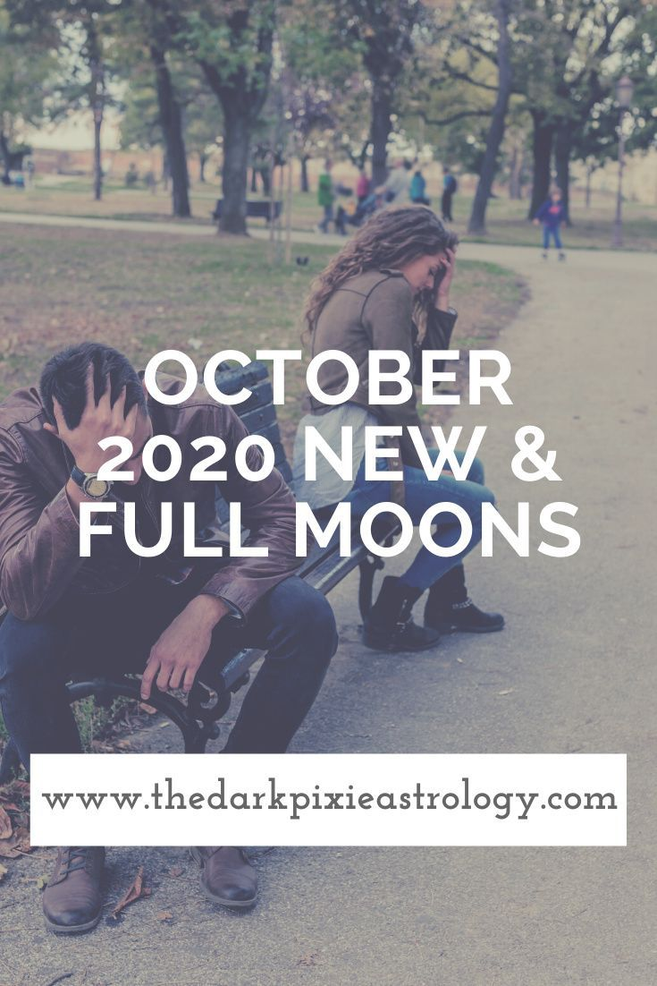 October 2020 New & Full Moons Full Moon in Aries, New