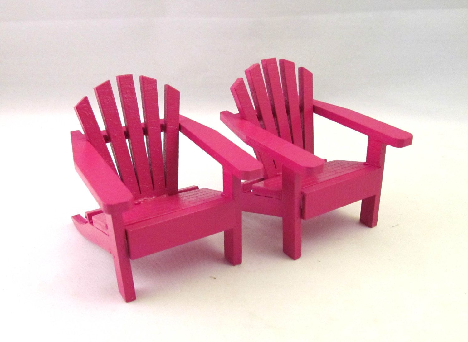 miniature adirondack chairs babies r us kids chair mini fairy garden cake topper
