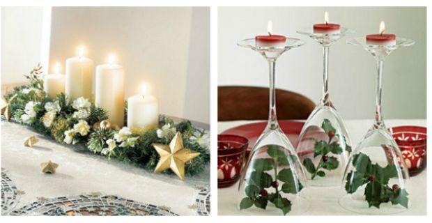Imagen relacionada navidad decoracion - Adornos navidenos para mesas ...
