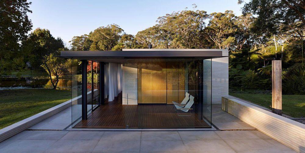 Casa moderna se relaciona con la naturaleza | casa campo | Pinterest ...
