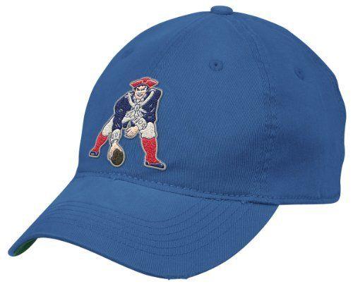 a65688551ca NFL New England Patriots End Zone Team Color Flex Slouch Hat - EN13Z ...