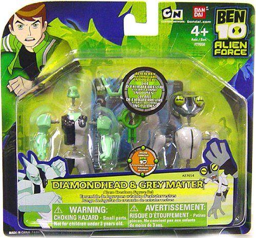 Ben 10 Diamondhead Alien Creation Chamber Figure