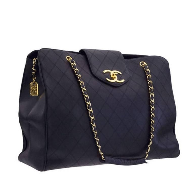3cb3c95dba2b Chanel Quilted Overnight Bag