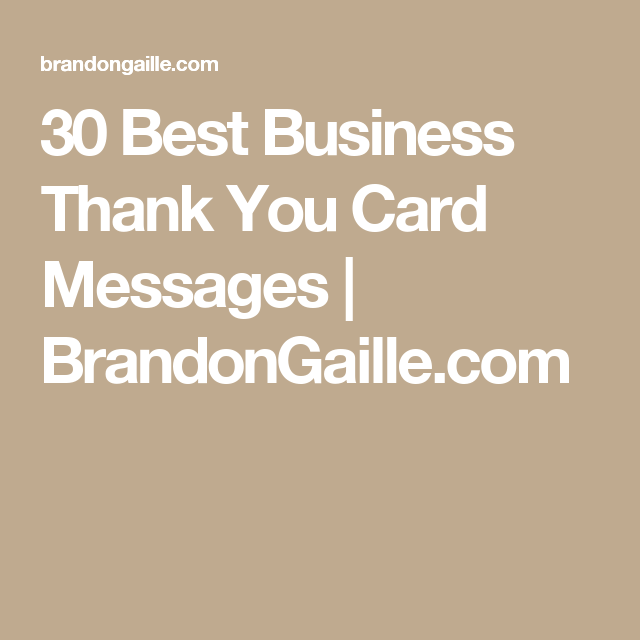 31 Best Business Thank You Card Messages Work Condolence Card