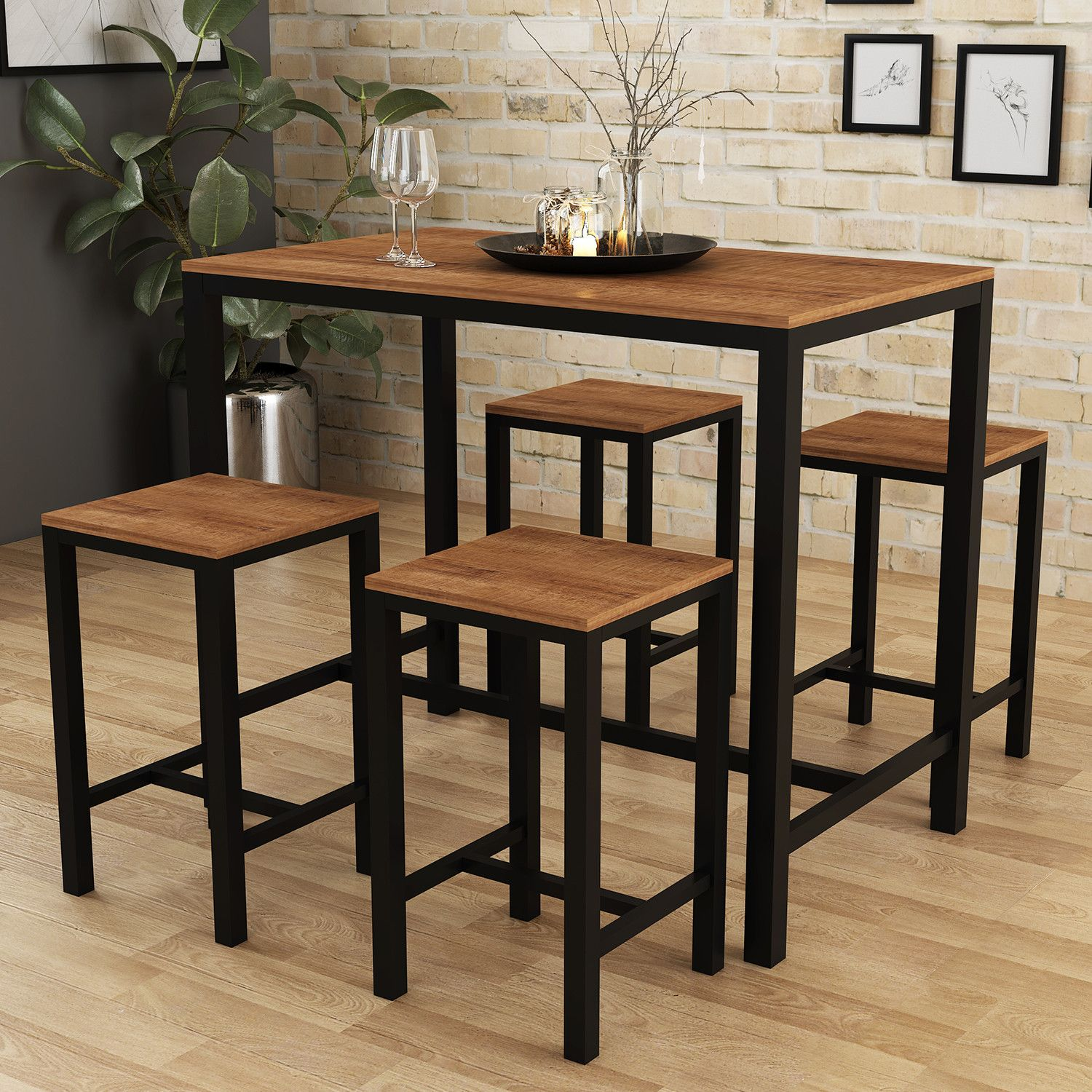 Camden Bar Table And Stool Set In 2020 Bar Table Bar Table And
