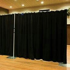 and online in pipe panels pin drape over backdrops standard drapes available colors very