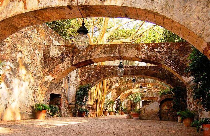 Mexico wedding venue, old-world elegance, historic site ...