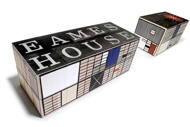 Eames House Alphabet Blocks