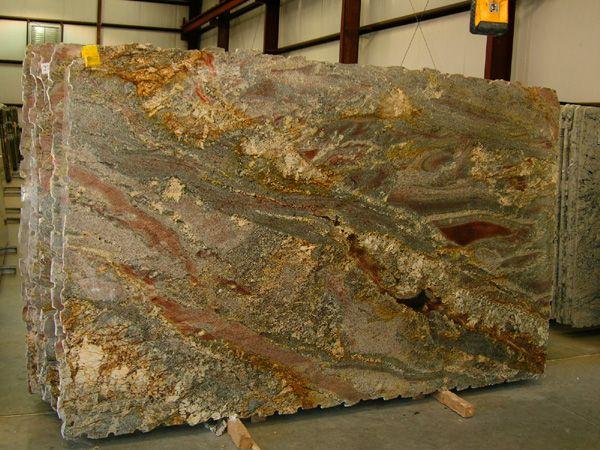 Bordeaux River Granite Gold Slab