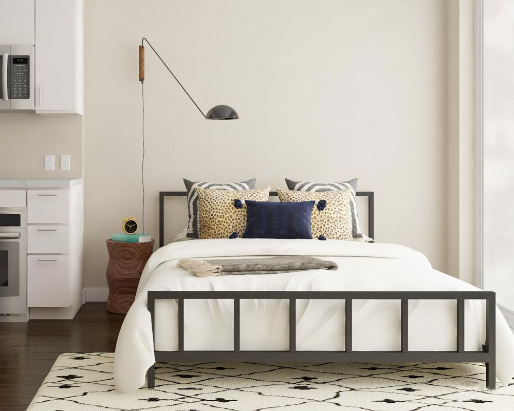 The Best Apartment Design Ideas From Our Designers Playbook Apartment Bedroom Decor Apartment Bedroom Design Small Apartment Design