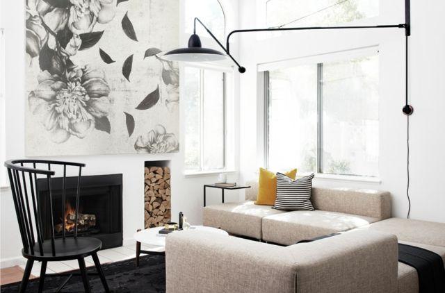 Wandgestaltung für modernes Wohnen- DIY Projekte für Wanddeko DIY