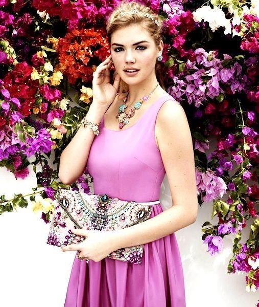 Kate Upton by Josh Olins for Accessorize Spring 2013 Campaign