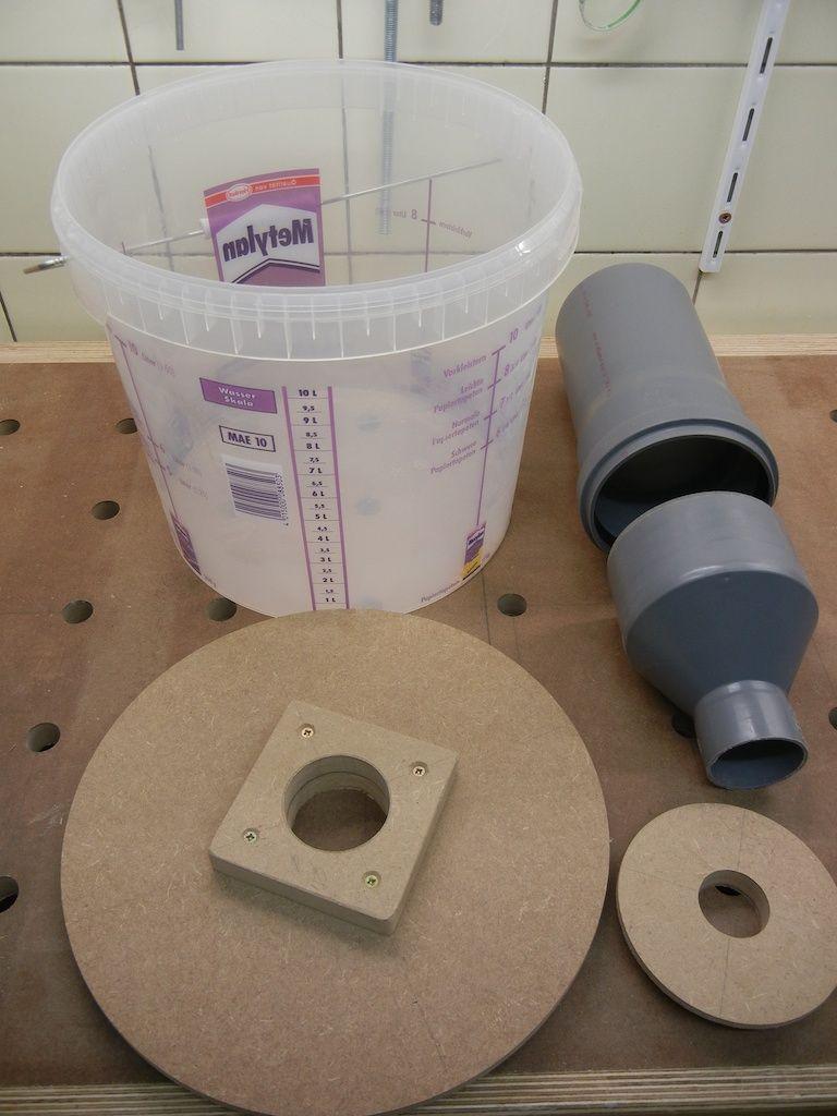 bauteile f r den zyklon werkzeuge tools pinterest werkstatt staubsauger und werkzeuge. Black Bedroom Furniture Sets. Home Design Ideas