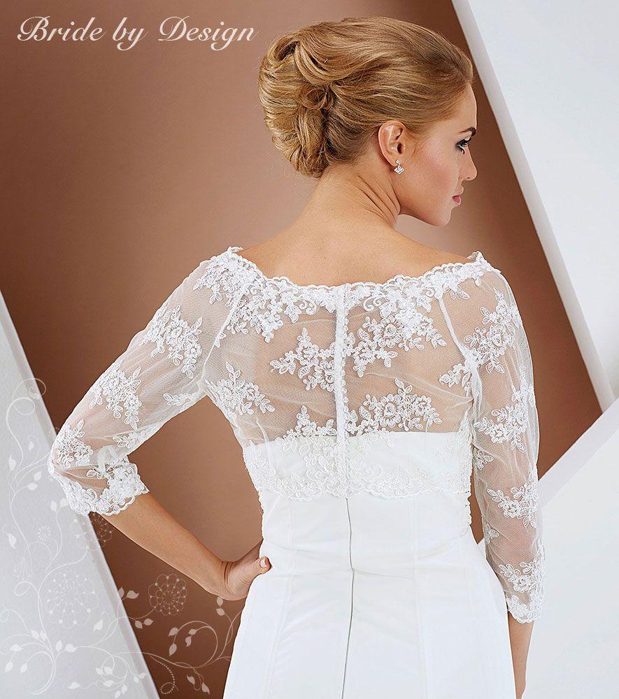 Backwards Lace Jacket Wedding Dresses Lace Flower Girl Dresses