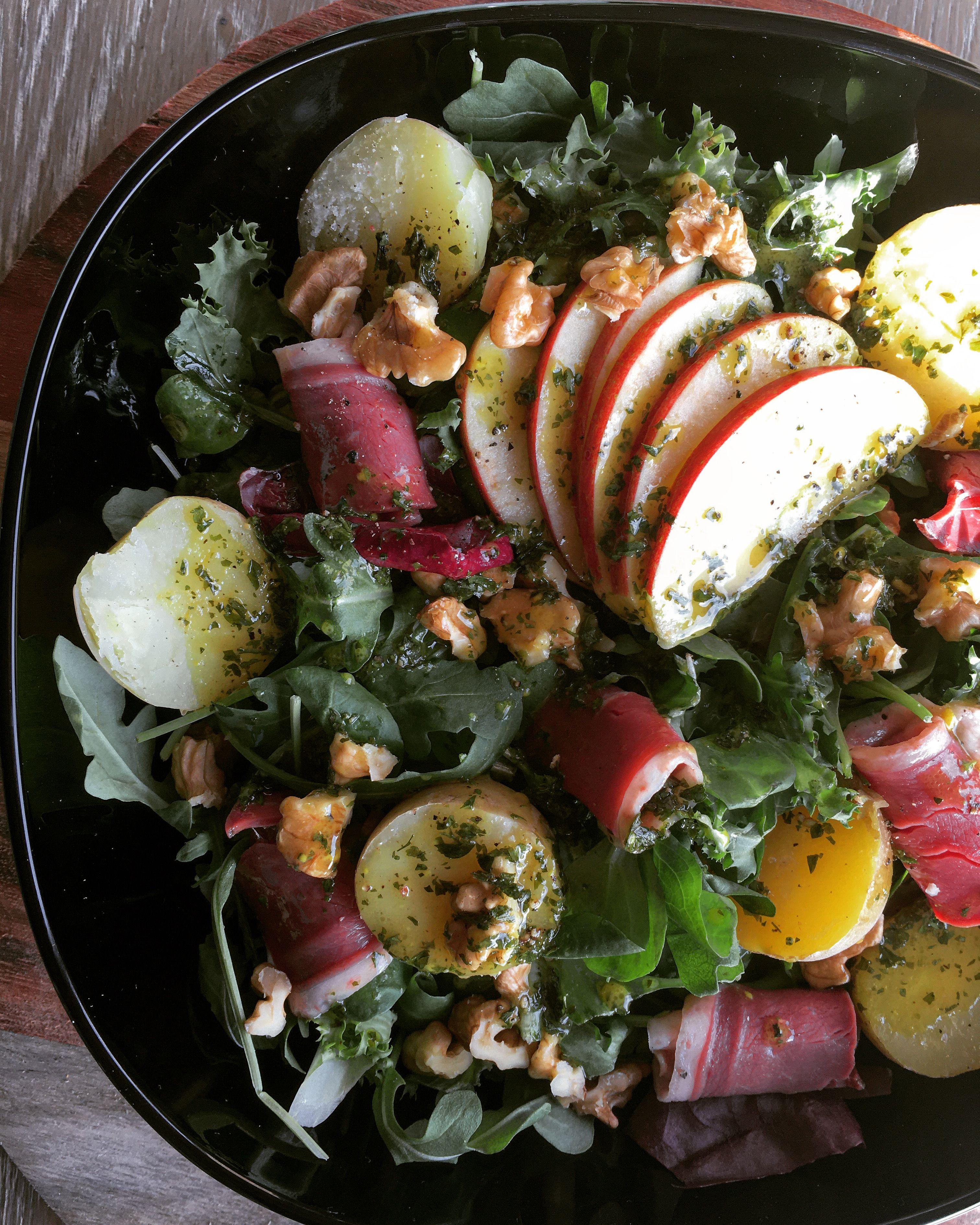 Salade automnale  #saladeautomne