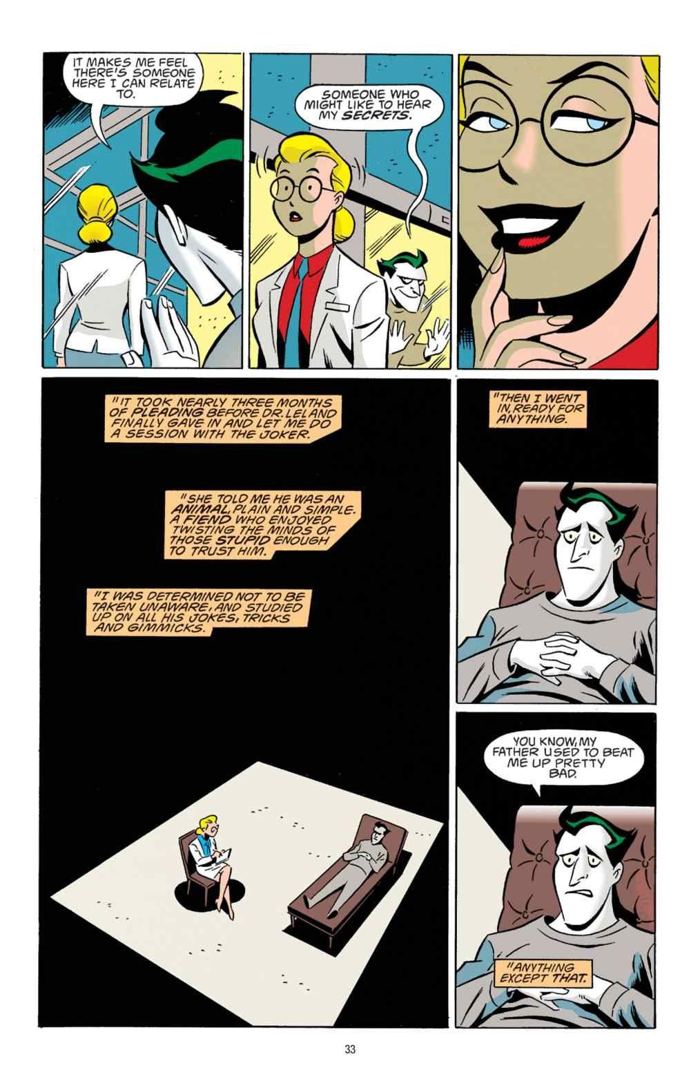 read comics online free the batman adventures mad love chapter
