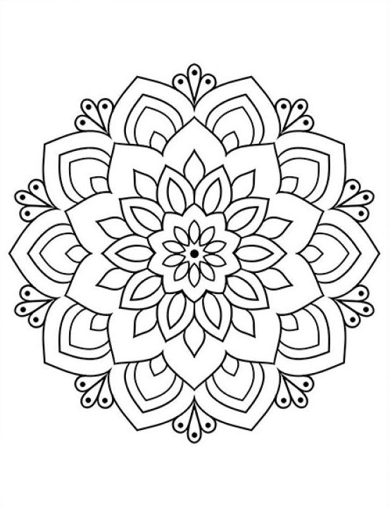 Forme Circulaire Motif Mandala Fleur Henne Stock Vector Coloriage Mandalas Coloriage Jurnalis Bizarre Col En 2020 Coloriage Mandala Coloriage Mandala Dessin