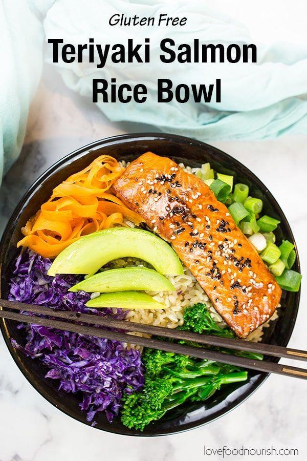 #glutenfreedinner #healthyasianfood #teriyakisalmon #glutenfree #asianfood #teriyaki #ricebowl #veggies #healthy #flavour #seafood #gluten #salmon #dinner #makesTeriyaki Salmon Bowl (Gluten Free) You will love this Gluten Free Teriyaki Salmon Bowl! This healthy salmon bowl makes a healthy and easy dinner that is full of veggies and flavour.You will love this Gluten Free Teriyaki Salmon Bowl! This healthy salmon bowl makes a healthy and easy dinner that is full of veggies and flavour. #teriyakisalmon
