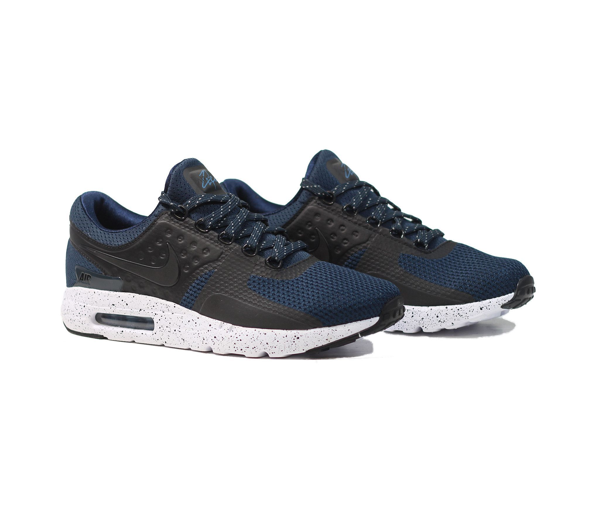 new concept eb856 6a49b NIKE Air Max Zero PRM - Armory Navy/White/Industrial Blue ...