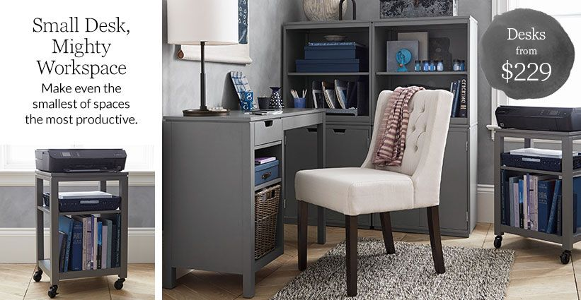 Create Small But Might Work Space In Any Foot Print