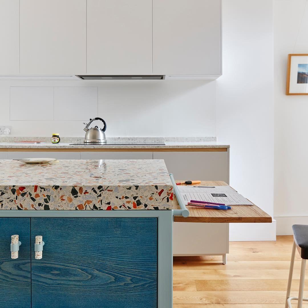 Bespoke Terrazzo Diespeker Uk Photo Source Witlof Design Kitchen Remodel Kitchen Countertops Kitchen