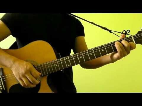 The Scientist Coldplay Easy Guitar Tutorial No Capo Sadies