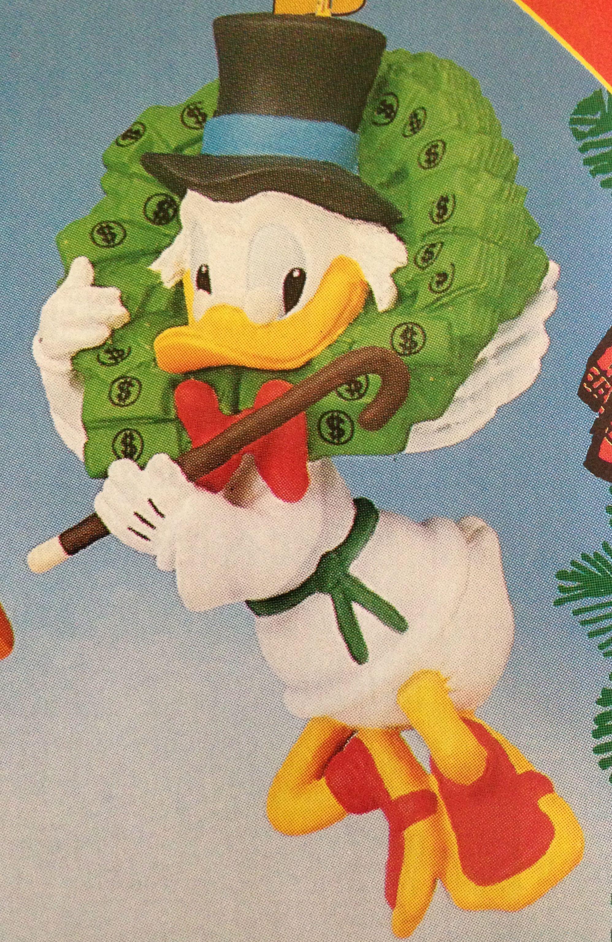 Scrooge Mcduck Angel Christmas Disney Ornament Grolier Disney Christmas Ornaments Disney Ornaments Disney Christmas