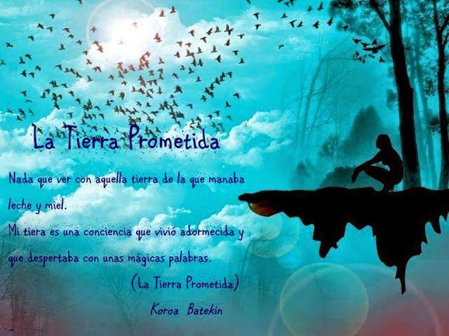 Rincón poético: La Tierra Prometida. http://vilellabas.blogspot.com.es/p/la-tierra-prometida.html