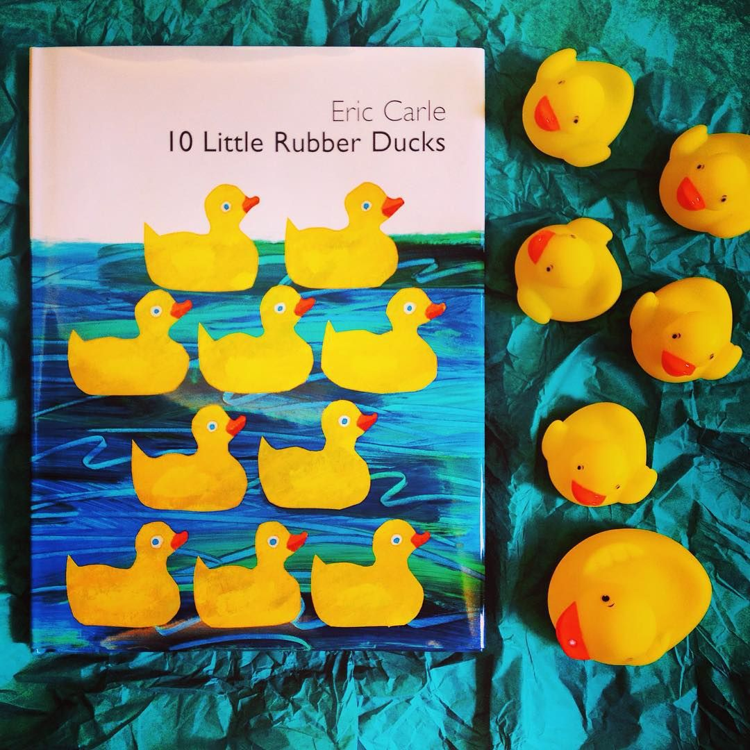 Count To 10 With Your Little Reader And 10 Little Rubber Ducks By Eric Carle Animal Books Elephant Book Rubber Duck