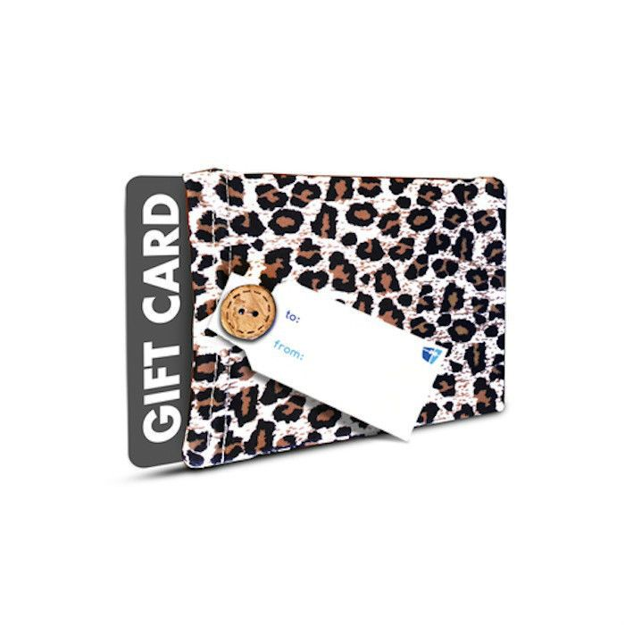 KEEPSAKE GIFT CARD HOLDER-2 GIFTS IN ONE!  WRAPEEZ LEOPARD-PRE ORDER #Wrapeez #AnyOccasion