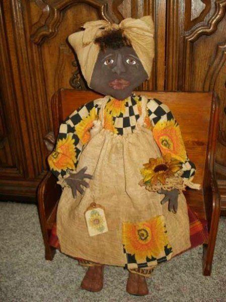 Free Primitive Sewing Patterns | Primitive Folk Art Doll Patterns ...
