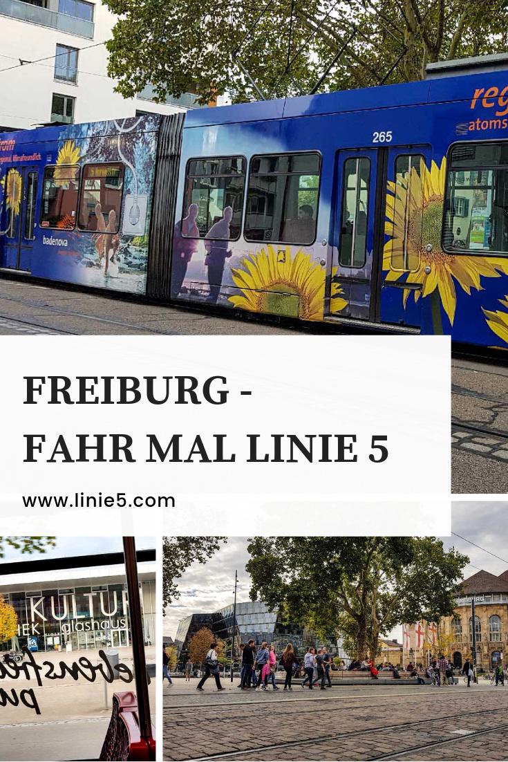 Fahr mal Linie 5 in Freiburg
