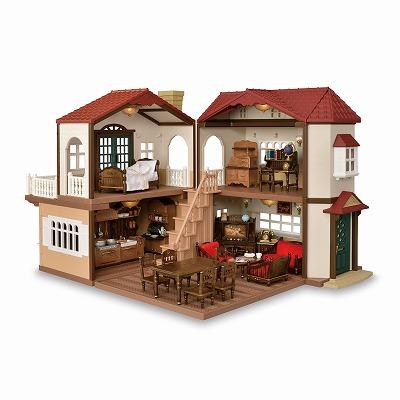 シルバニアファミリー ファンクラブ オンラインショップ赤い屋根の大きなお家 クラシックカラー Sylvanian Families Funclub Online Shop 赤い屋根 シルバニアファミリー 屋根