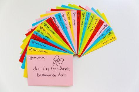 Öffnen Wenn Briefe- Das perfekte Geschenk zum Valentinstag