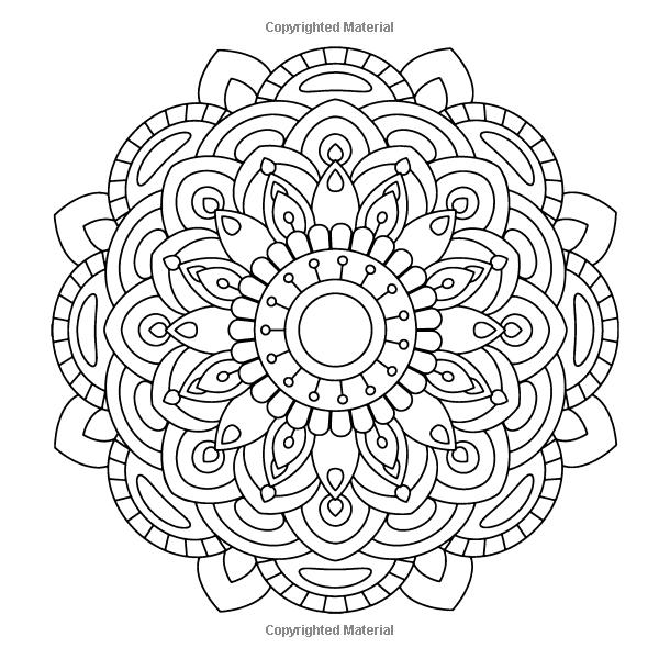Amazon Golden Mandalas 100 Unique Mandala Designs Adult Coloring Book