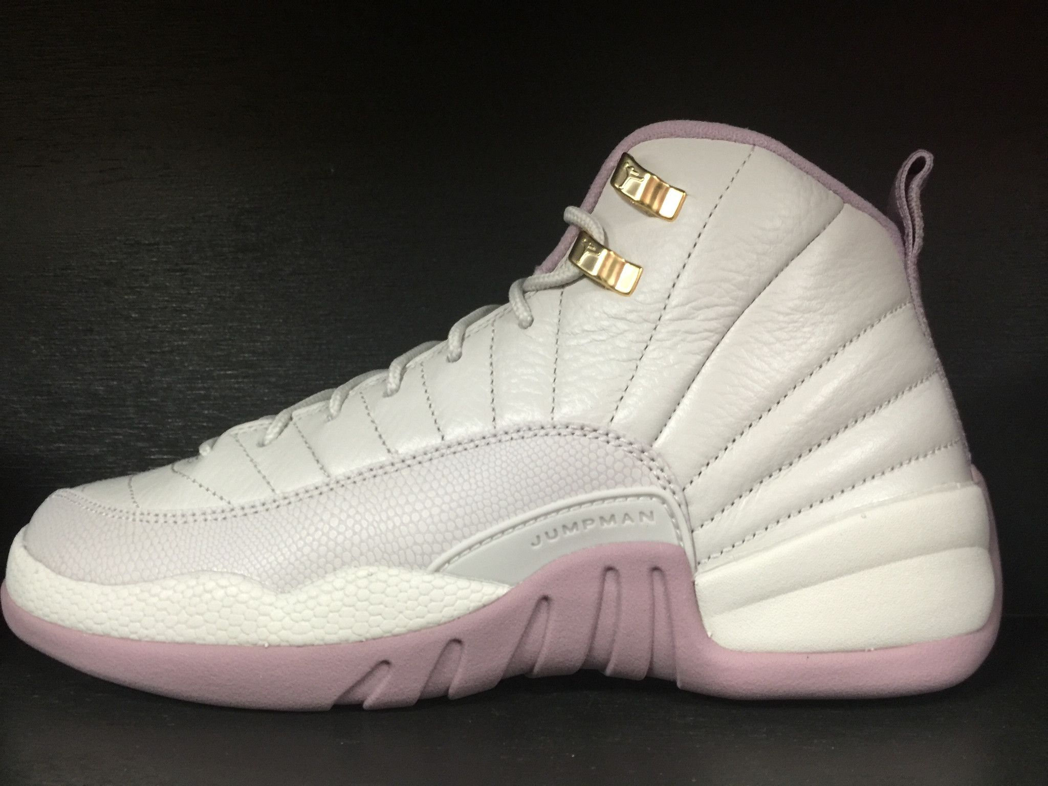 new concept de7d3 0df91 ... womens air jordan retro 12 black purple  Air Jordan 12 Retro  Heiress   .. ...