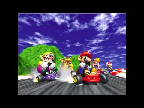 Mario Kart 64 N64 Full Soundtrack Youtube Mario Kart N64