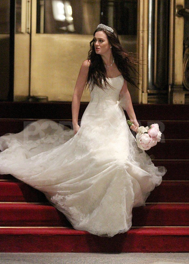Photo of See Leighton Meester in Blair Waldorf's Wedding Dress For Gossip Girl!