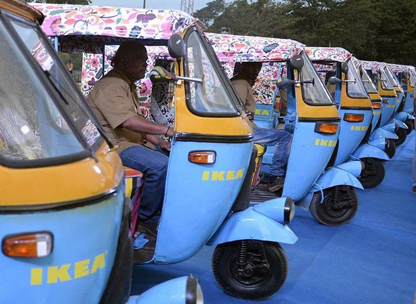 Ikea S First India Store Will Use Solar Powered Electric Rickshaws