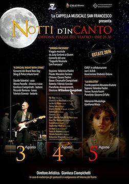 """""""Notti d'InCanto"""" ad Ortona"""