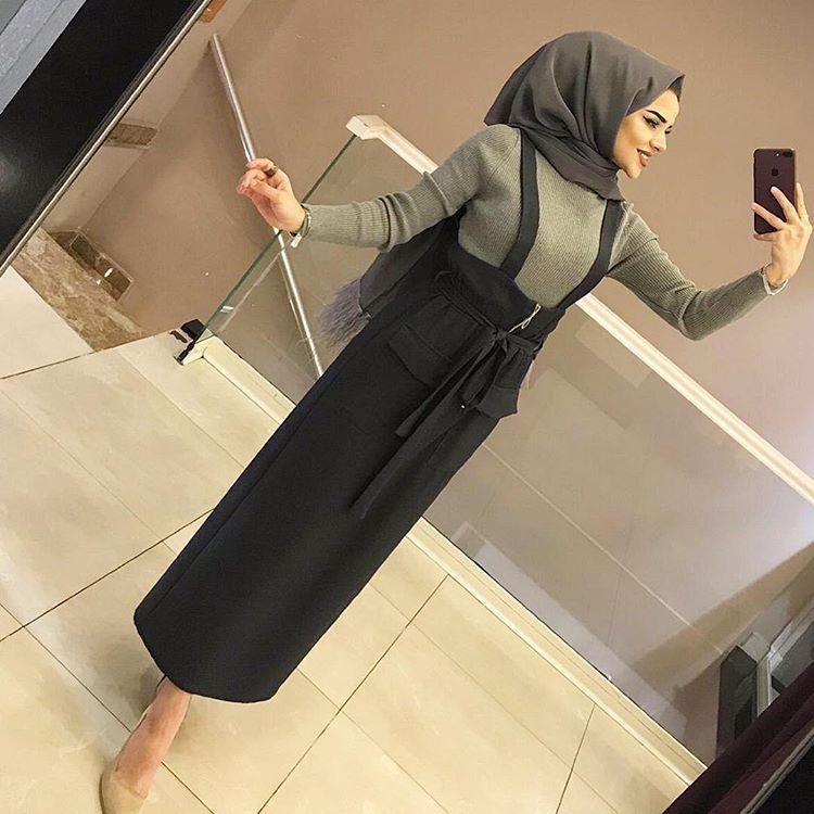 Emell Turgay Yeni Sal Modeli Kombinlerin Sikligina Siklik Katiyor Abaya Tarzi Giyim Elbise